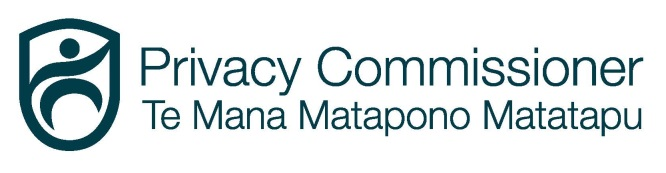 Privacy Forum (Wellington) 11 May 2016 logo