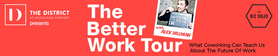 The Better Work Tour with Alex Hillman - Auckland logo