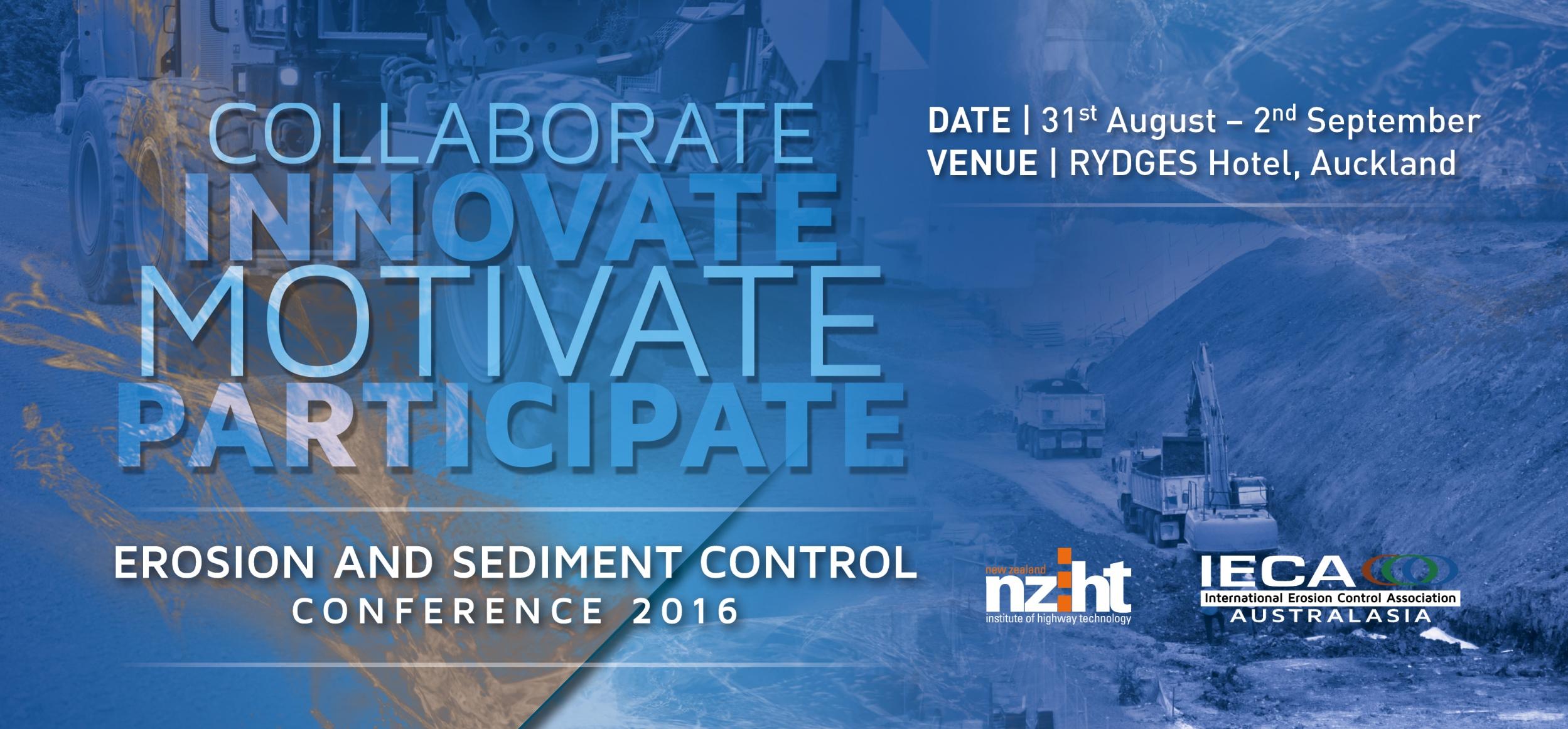 IECA & NZIHT Erosion and Sediment Control Conference logo