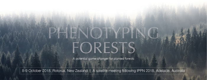 Phenotyping Forests - A potential game changer for planted forests logo