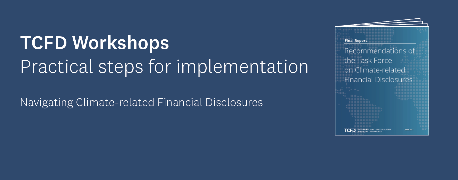 TCFD Workshops – Practical steps for implementation (Auckland and Wellington) logo