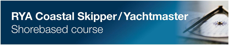 RYA Coastal Skipper / Yachtmaster Shorebased (Theory) Course logo