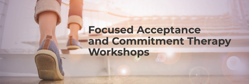 Focused Acceptance and Commitment Therapy Workshops 2019 logo
