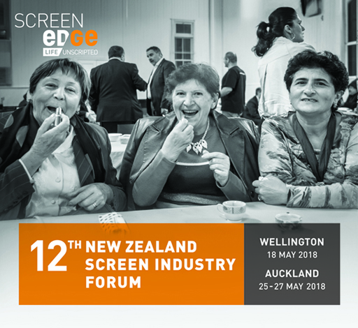 Wellington Screen Edge Forum 2018 logo