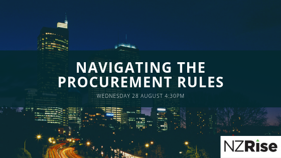 4th Edition of the Government Procurement Rules – What do they mean for NZ business? logo