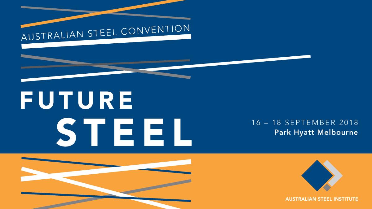 Australian Steel Institute 2018 Convention: Future Steel logo