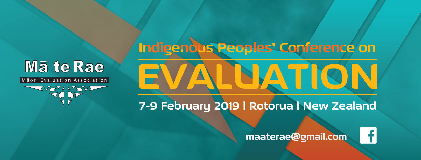 Mā Te Rae Indigenous Peoples' Conference on Evaluation logo