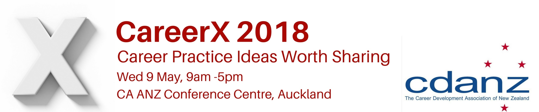 CareerX 2018 logo