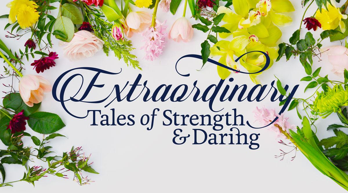 Extraordinary Tales of Strength & Daring - Episode III logo