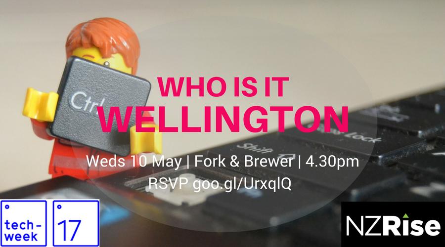 Who is IT Wellington?! logo