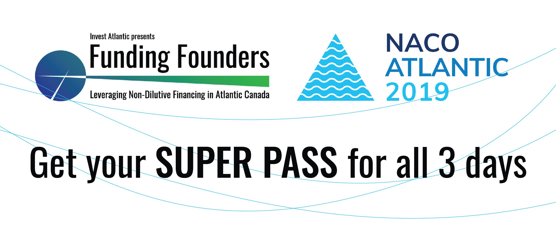 Funding Founders & NACO Atlantic 2019 logo