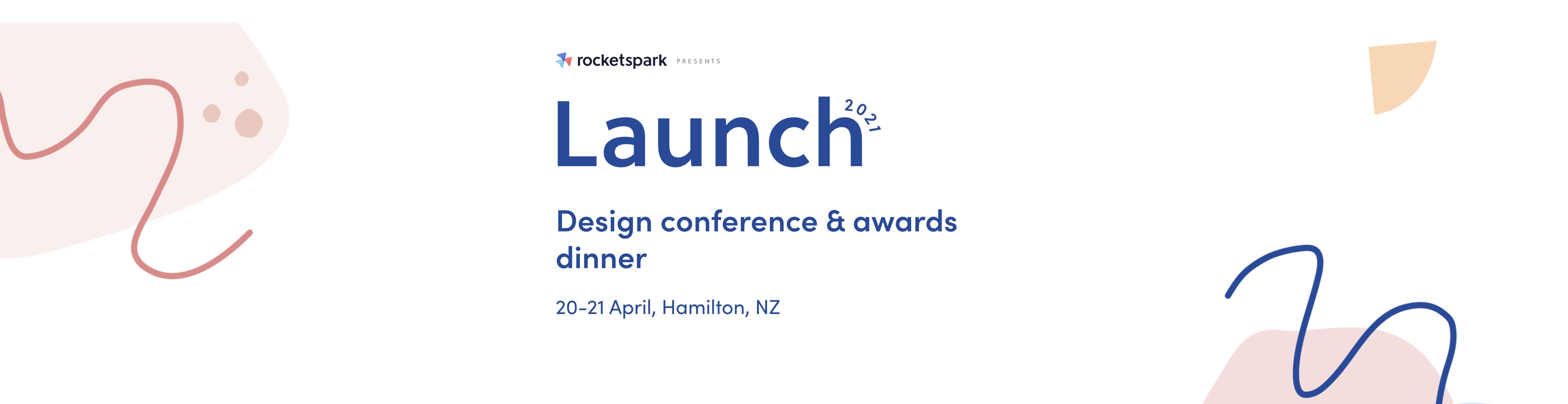 Rocketspark Design Conference 2021 logo