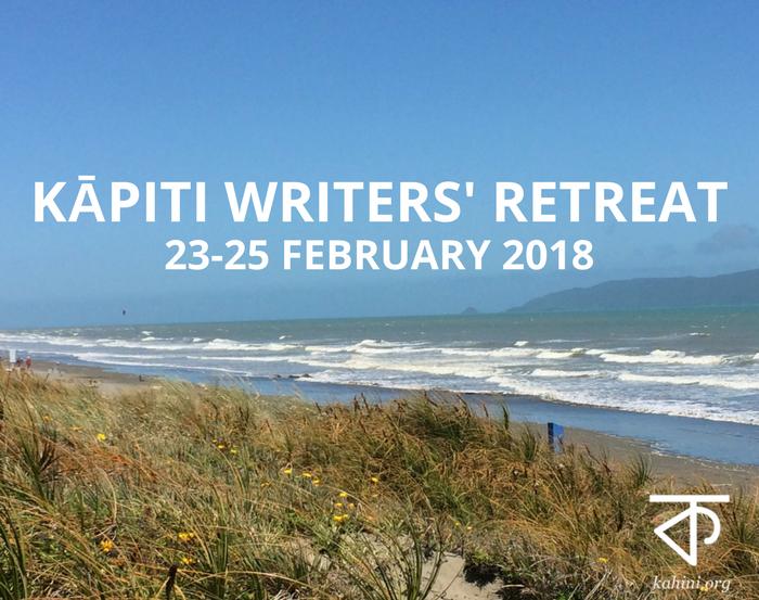 2018 Kāpiti Writers' Retreat logo
