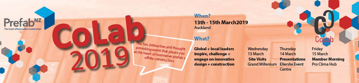 CoLab 13 - 15 March 2019 Auckland logo