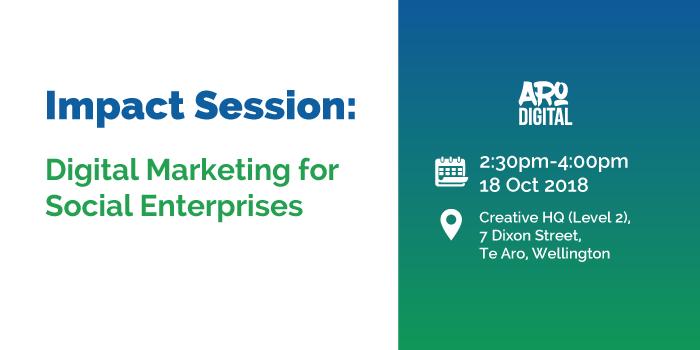 Impact Session: Digital Marketing for Social Enterprises logo