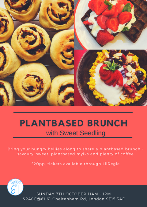 Plantbased brunch logo