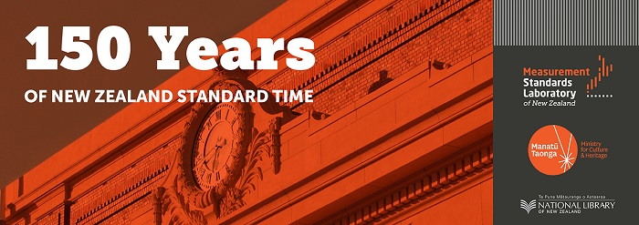 150th Anniversary of NZ Standard Time logo