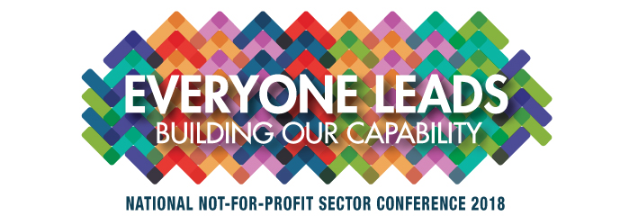 National Not-For-Profit Sector Conference 2018 logo
