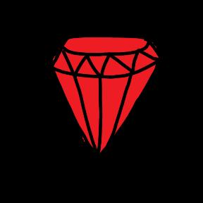 Ruby Retreat: 2020 logo