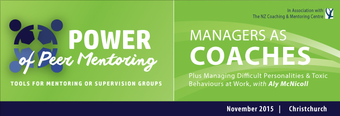 Managers As Coaches and/or Power of Peer Mentoring logo