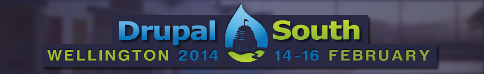 DrupalSouth Wellington 2014 logo