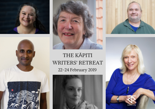 2019 Kāpiti Writers' Retreat logo