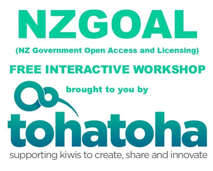 NZGOAL Interactive Workshop with Tohatoha logo