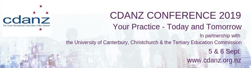 CDANZ National Conference 2019 and associated events logo