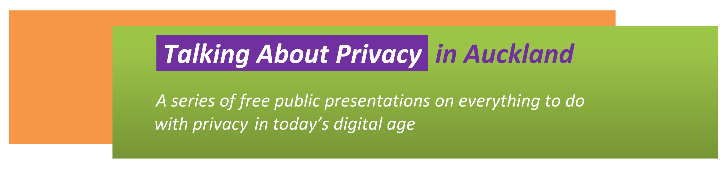 Blockchain's Promise for Privacy logo