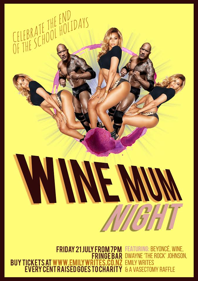 Wine Mum Night logo