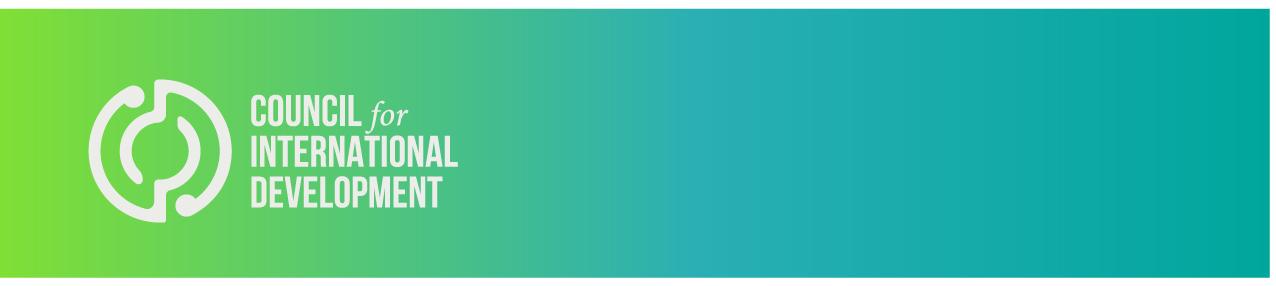*WELLINGTON* Monitoring & Evaluation Workshop logo