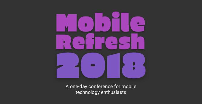 Mobile Refresh 2018 logo