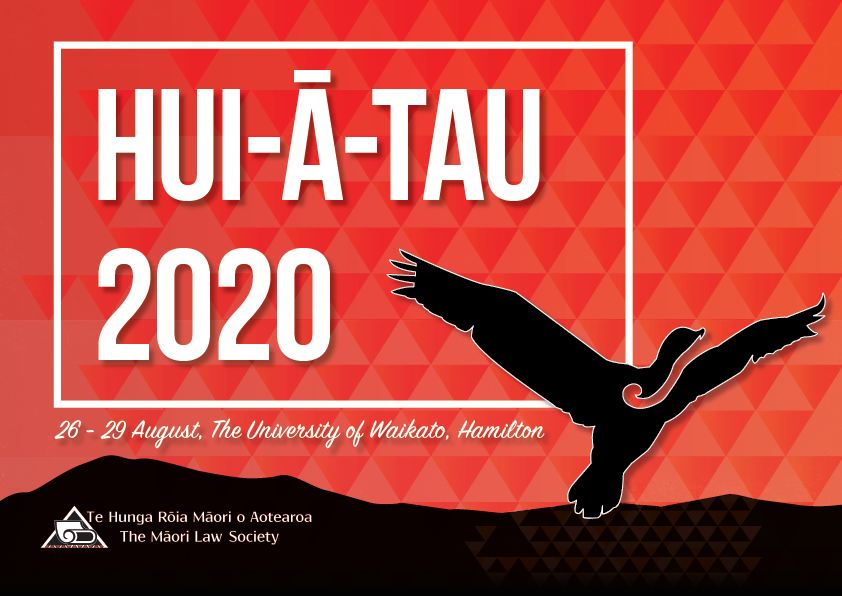 Te Hunga Rōia Māori o Aotearoa, The Māori Law Society Conference / Hui-ā-Tau 2020 logo