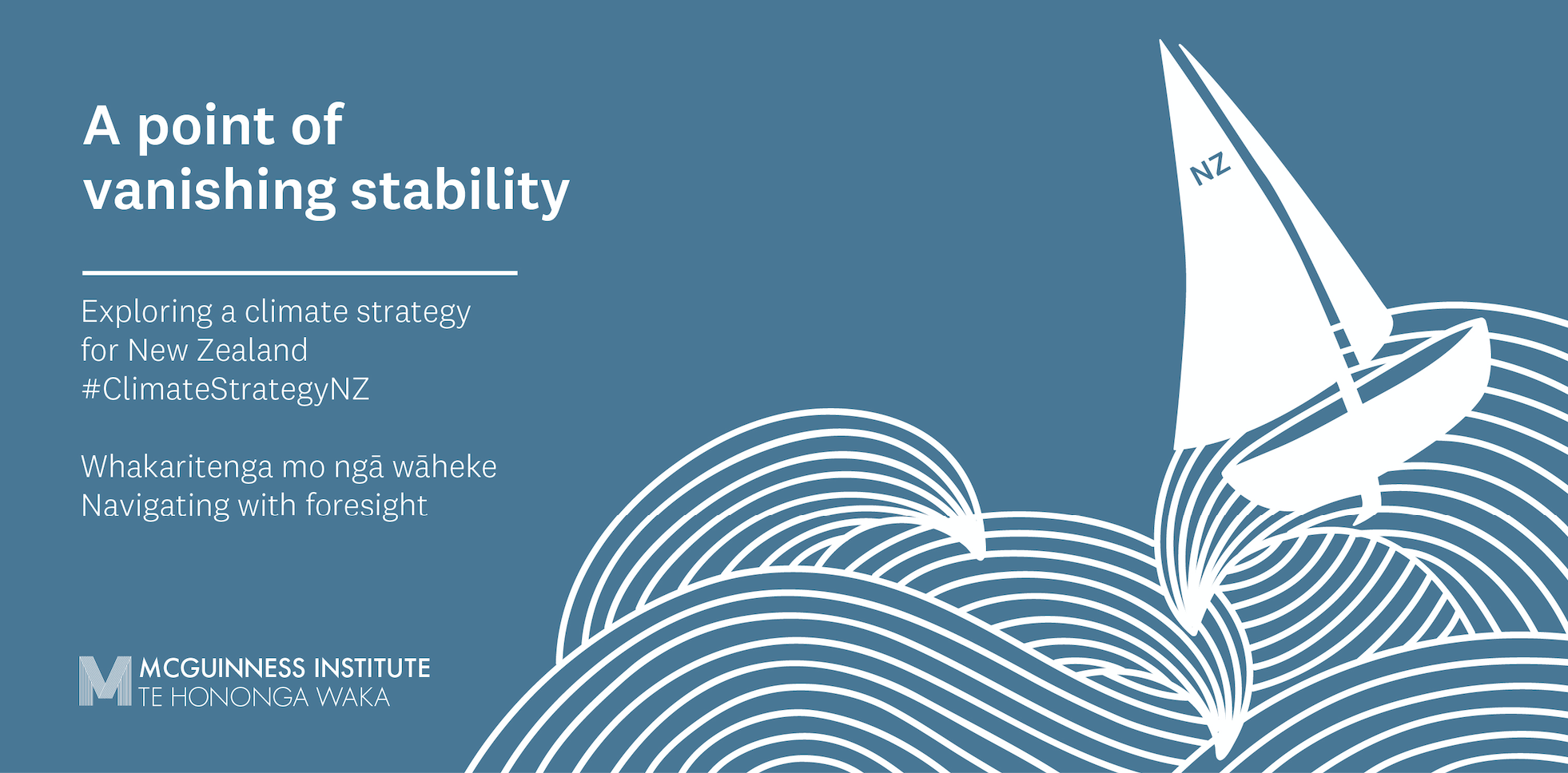 A Point of Vanishing Stability: Exploring a climate strategy for New Zealand logo