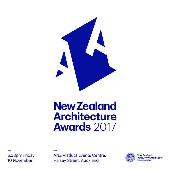 New Zealand Architecture Awards 2017 logo