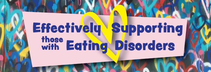 Effectively Supporting Those With Eating Disorders - August - Auckland logo